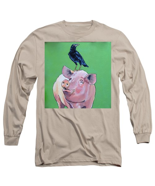 Cromwell The Crow Long Sleeve T-Shirt