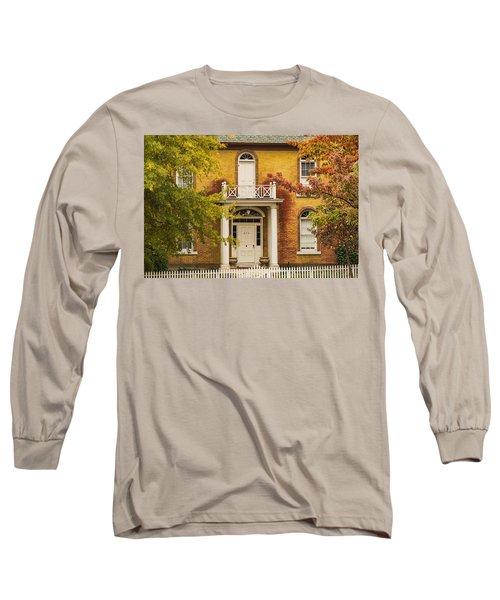 Crooked White Fence Long Sleeve T-Shirt