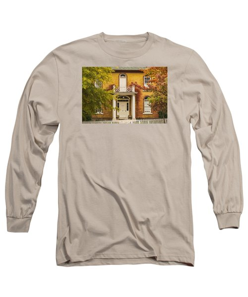 Crooked White Fence Long Sleeve T-Shirt