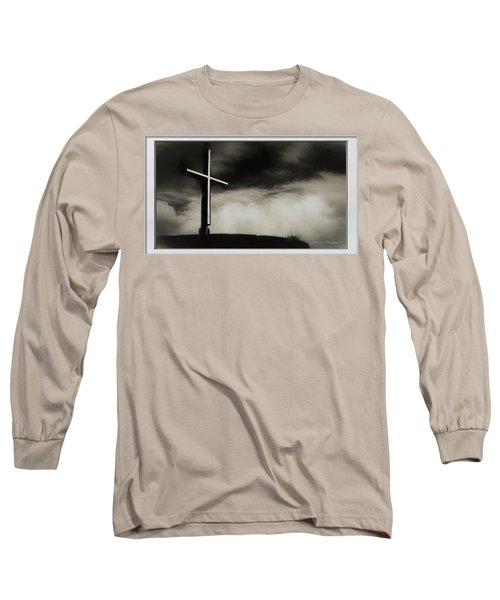 Cross On A Hill Long Sleeve T-Shirt