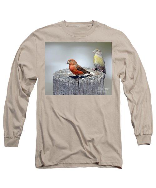 Crossbills Long Sleeve T-Shirt