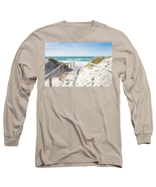 Crossing The Dune Long Sleeve T-Shirt by Edgar Laureano