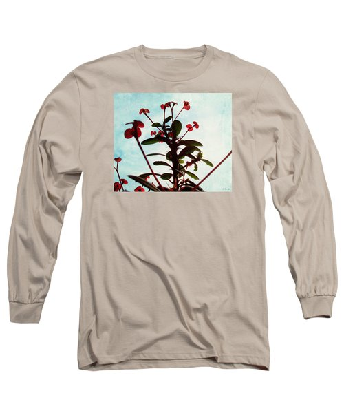 Long Sleeve T-Shirt featuring the photograph Crown Of Thorns by Shawna Rowe