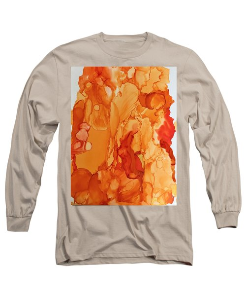 Orange Crush Long Sleeve T-Shirt