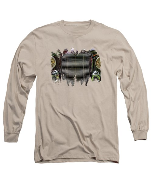Crusin' With A 32 Desoto Long Sleeve T-Shirt by Thom Zehrfeld