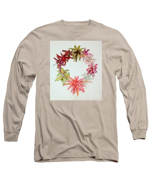 Cryptanthus Wreath Long Sleeve T-Shirt
