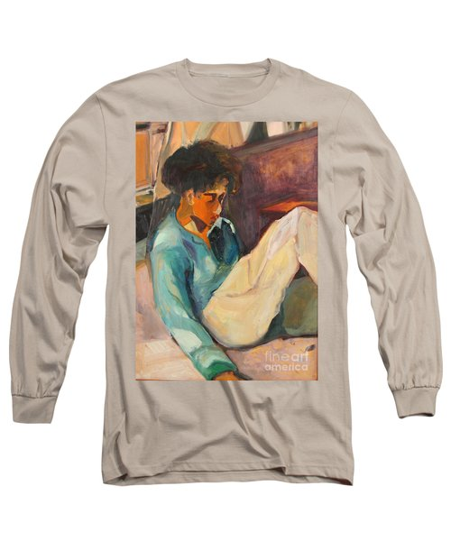 Crystal Long Sleeve T-Shirt by Daun Soden-Greene