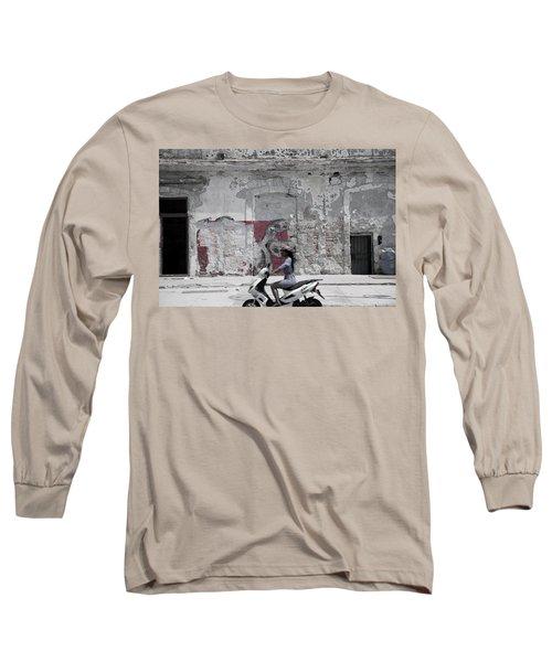 Cuba #5 Long Sleeve T-Shirt