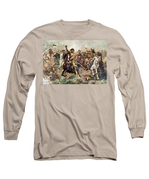 Cuba: Rough Riders, 1898 Long Sleeve T-Shirt
