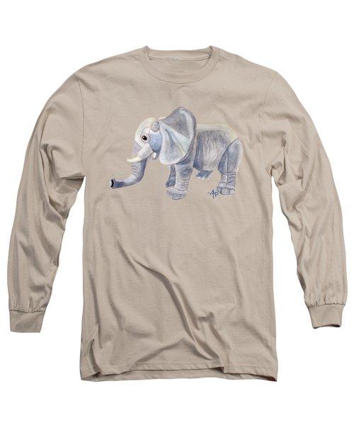 Cuddly Elephant II Long Sleeve T-Shirt