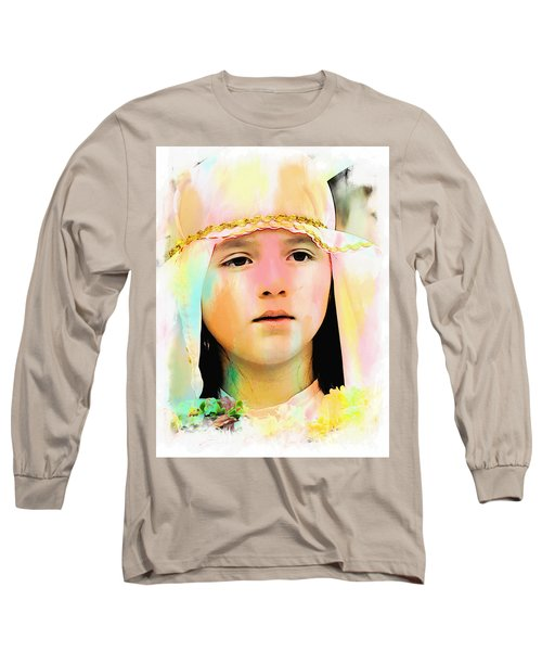 Long Sleeve T-Shirt featuring the photograph Cuenca Kids 899 by Al Bourassa
