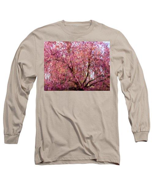Columnar Sargent Cherry 2 Long Sleeve T-Shirt