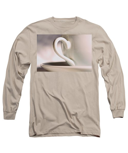 Cup And Saucer Long Sleeve T-Shirt