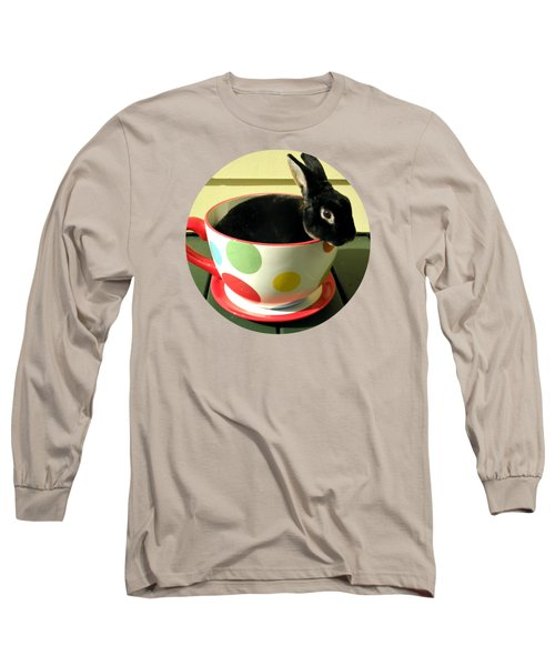 Cup O Bun T Shirt Long Sleeve T-Shirt by Valerie Reeves