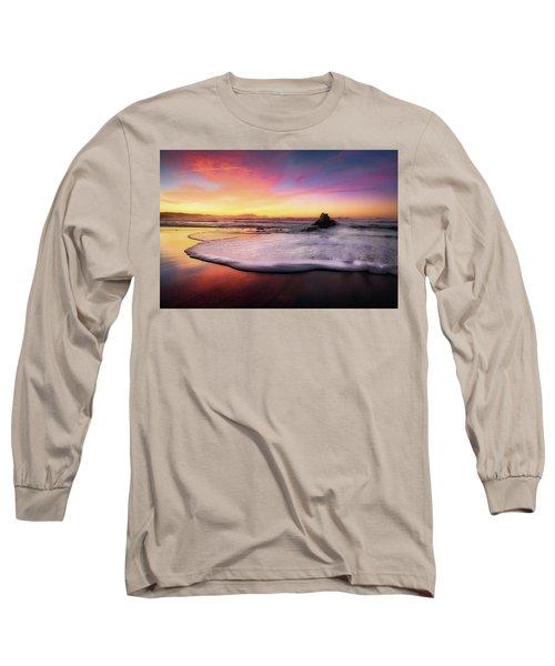 Cup Of Foam Long Sleeve T-Shirt