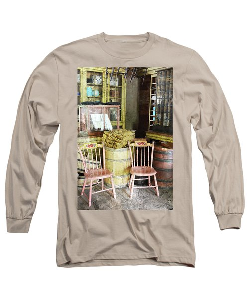 Cupboards Full Of Poetry Long Sleeve T-Shirt