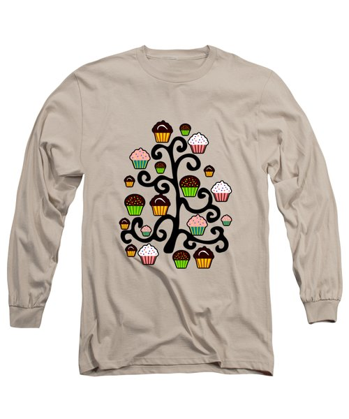 Cupcake Tree Long Sleeve T-Shirt