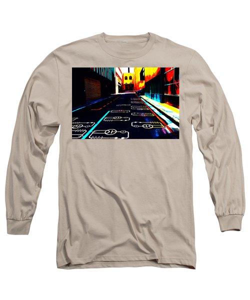 Curcuit City Long Sleeve T-Shirt
