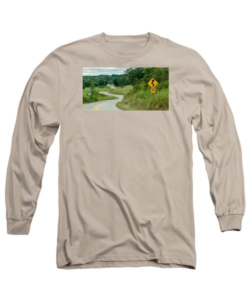 Curves Long Sleeve T-Shirt by Dan Traun