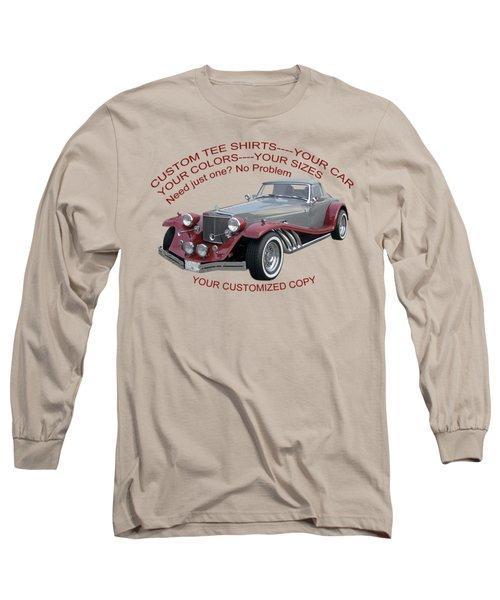 Custom Tee Shirts Long Sleeve T-Shirt