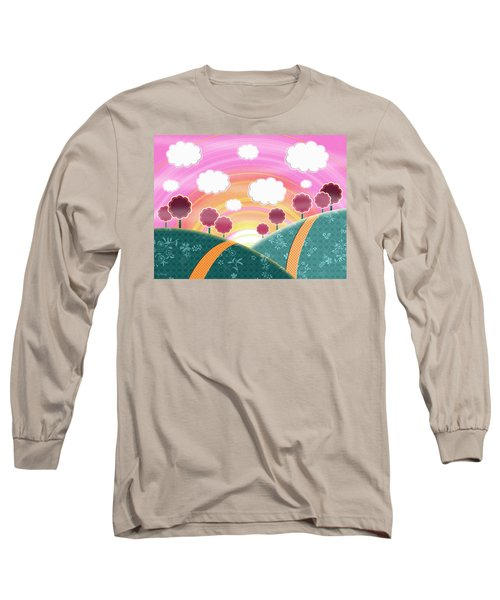 Cuteness Overload Long Sleeve T-Shirt by Shawna Rowe