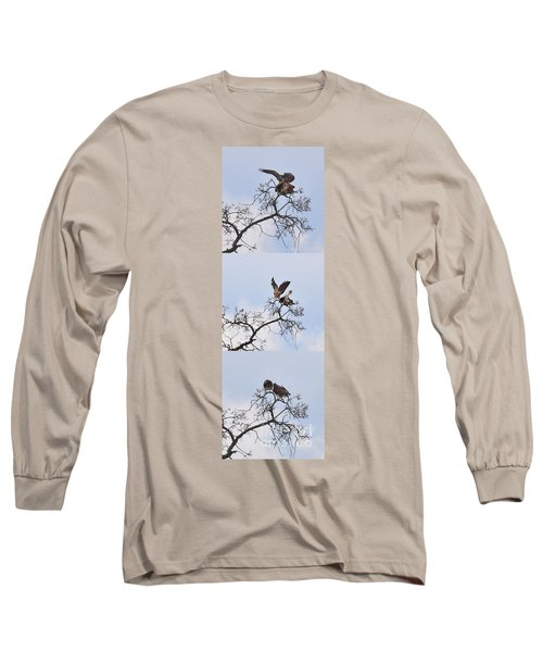 Long Sleeve T-Shirt featuring the photograph Cycle Of Life-view  Whole Screen by Debby Pueschel