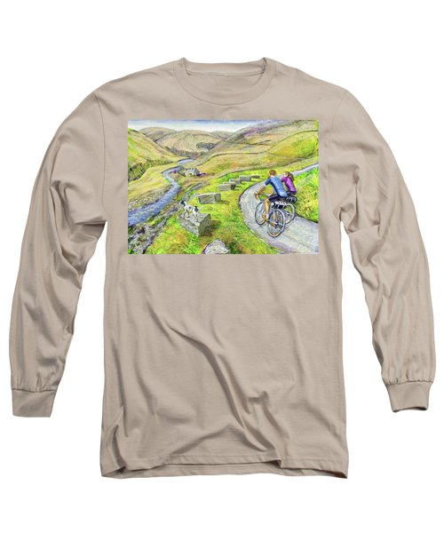 Lancashire Lanes I Long Sleeve T-Shirt