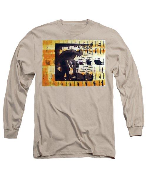 D U Rounds Project, Print 14 Long Sleeve T-Shirt