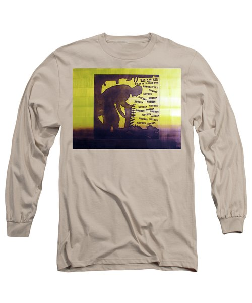 D U Rounds Project, Print 15 Long Sleeve T-Shirt