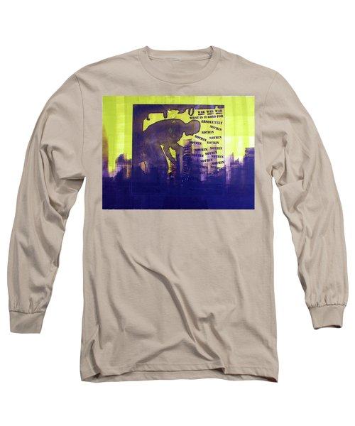 D U Rounds Project, Print 24 Long Sleeve T-Shirt