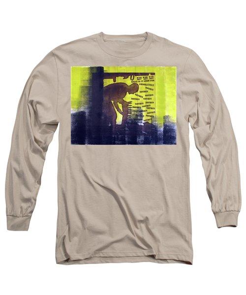 D U Rounds Project, Print 32 Long Sleeve T-Shirt