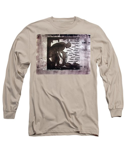 D U Rounds Project, Print 43 Long Sleeve T-Shirt