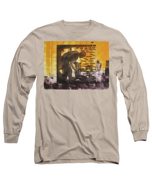 D U Rounds Project, Print 49 Long Sleeve T-Shirt