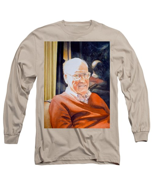Dad's Red Sweater Long Sleeve T-Shirt