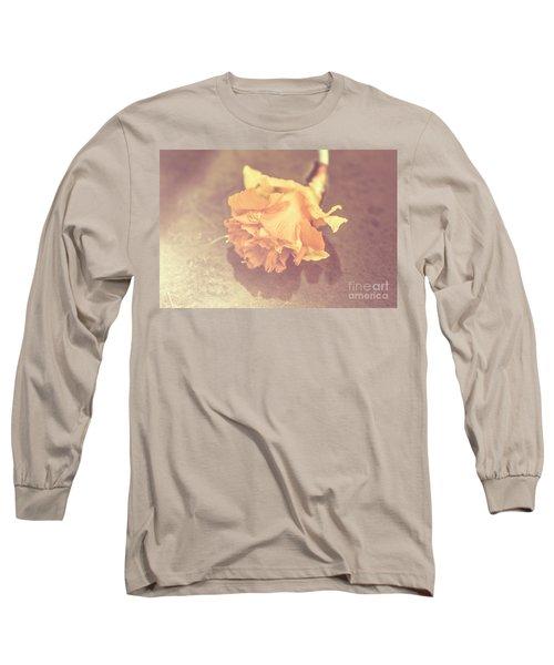 Daffodil Reflections  Long Sleeve T-Shirt