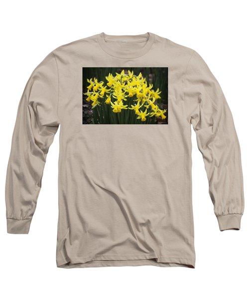 Daffodil Yellow Long Sleeve T-Shirt