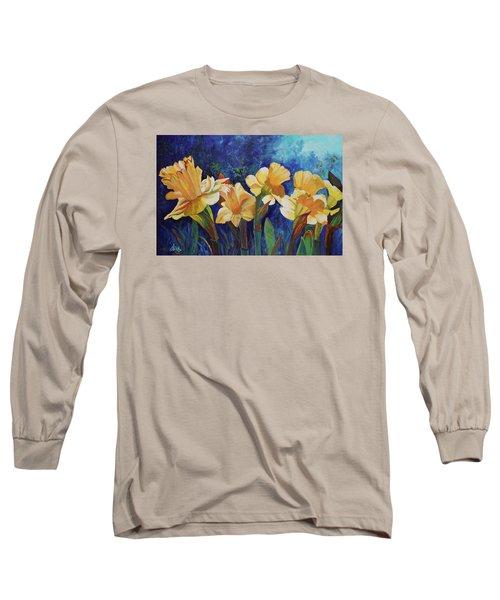 Daffodils Long Sleeve T-Shirt by Alika Kumar