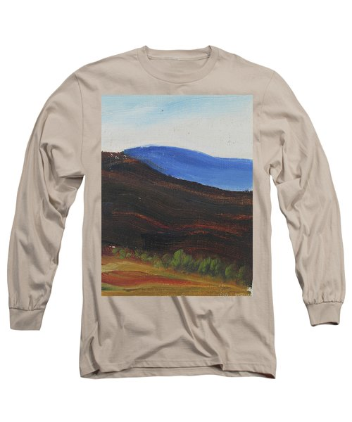Dagrar Over Salenfjallen- Shifting Daylight Over Distant Horizon 2 Of 10_0035 50x40 Cm Long Sleeve T-Shirt