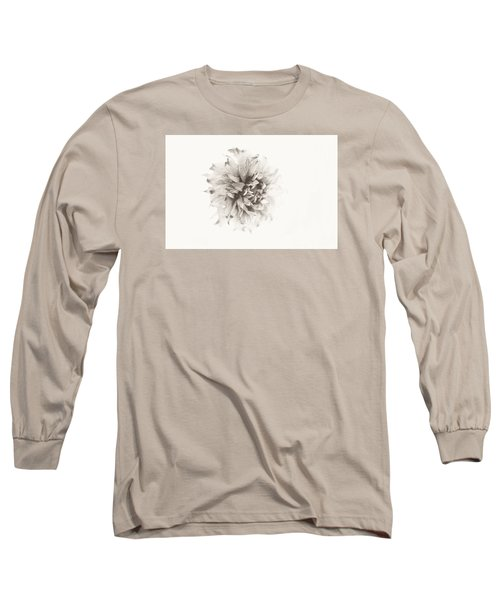 Dahlia 10 Long Sleeve T-Shirt by Simone Ochrym