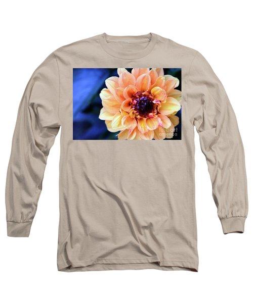 Dahlia Beauty Long Sleeve T-Shirt by Debby Pueschel