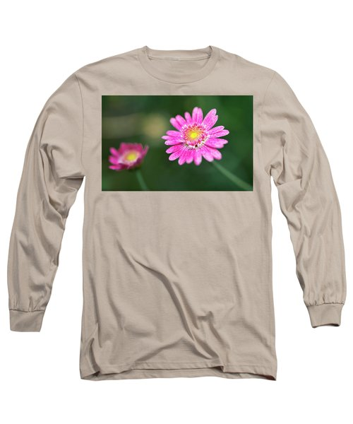 Daisy Flower Long Sleeve T-Shirt