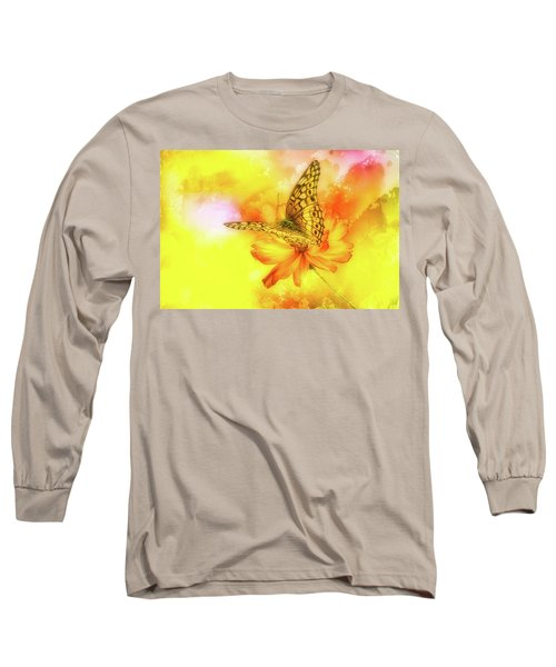 Daisy For A Butterfly Long Sleeve T-Shirt
