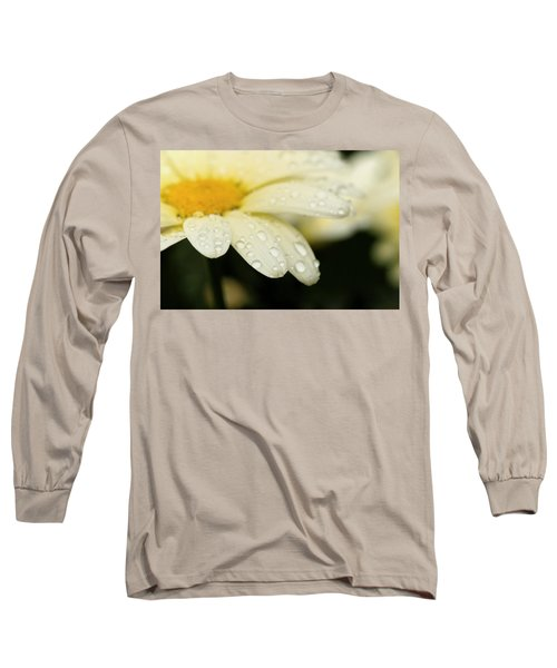 Daisy In Spring Long Sleeve T-Shirt by Angela Rath