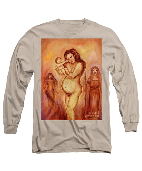 Dalaga, Ina, Mantanda Long Sleeve T-Shirt