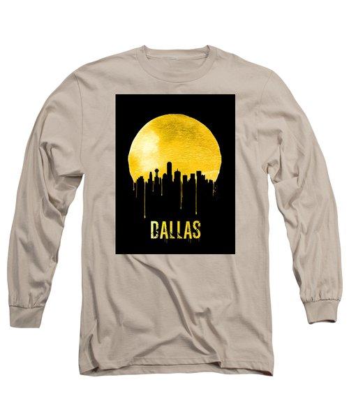 Dallas Skyline Yellow Long Sleeve T-Shirt