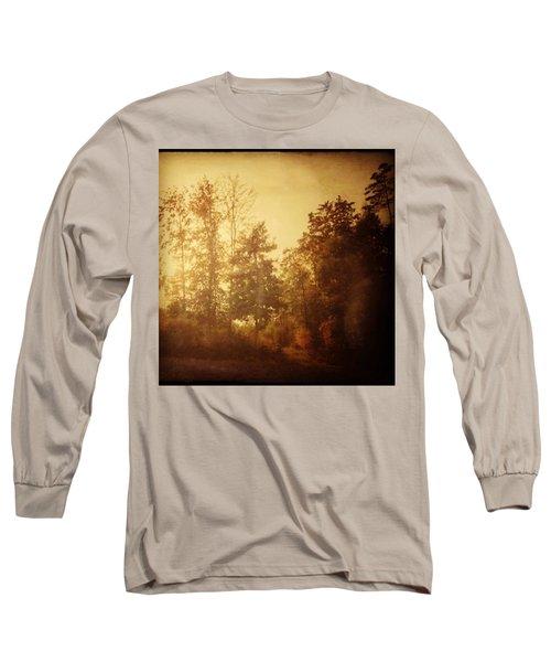 Damals.#herbst #nostalgie #autumn Long Sleeve T-Shirt