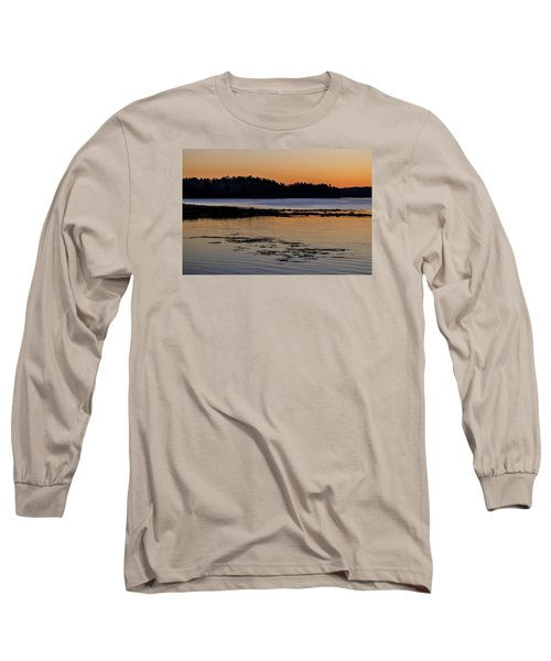 Damariscotta Twilight Long Sleeve T-Shirt by Tom Singleton