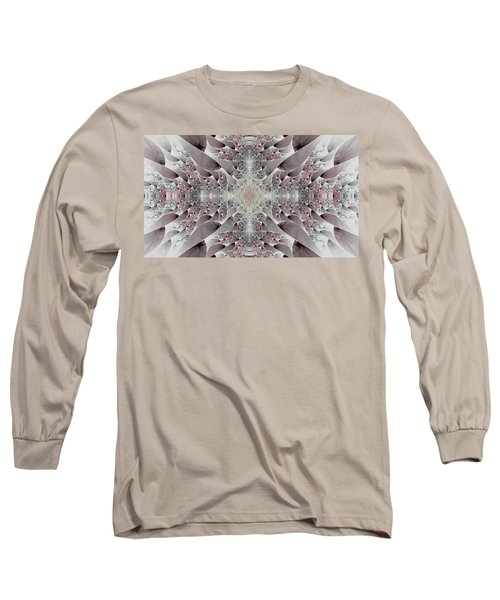 Long Sleeve T-Shirt featuring the digital art Damask by Lea Wiggins