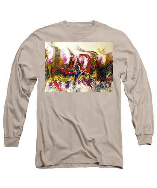 Dance Of Flames Long Sleeve T-Shirt