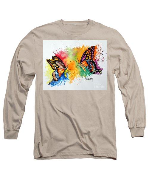 Dance Of The Butterflies Long Sleeve T-Shirt